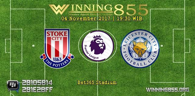 Prediksi Laga  Stoke vs Leicester | 04 November 2017