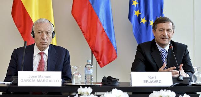 Organos de la Administracion Central y relaciones internacionales