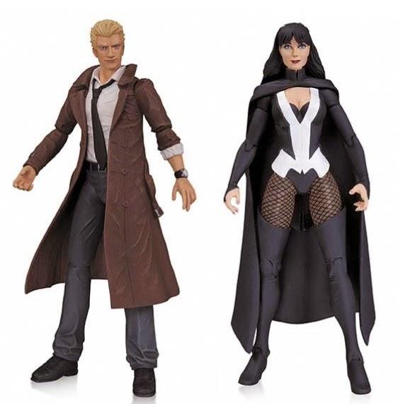 "Constantine Zatanna Porn - Justice League Dark ""New 52"" DC Comics Action Figures - Constantine &  Zatanna"