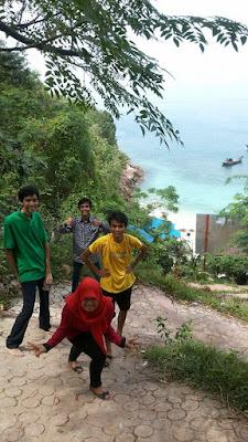 Warna Air di Pulau Salah Namo yang mempesona pic
