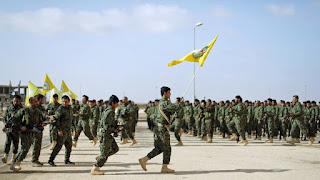 Αποχωρούν από τη Μανμπίτζ οι Κούρδοι της Συρίας