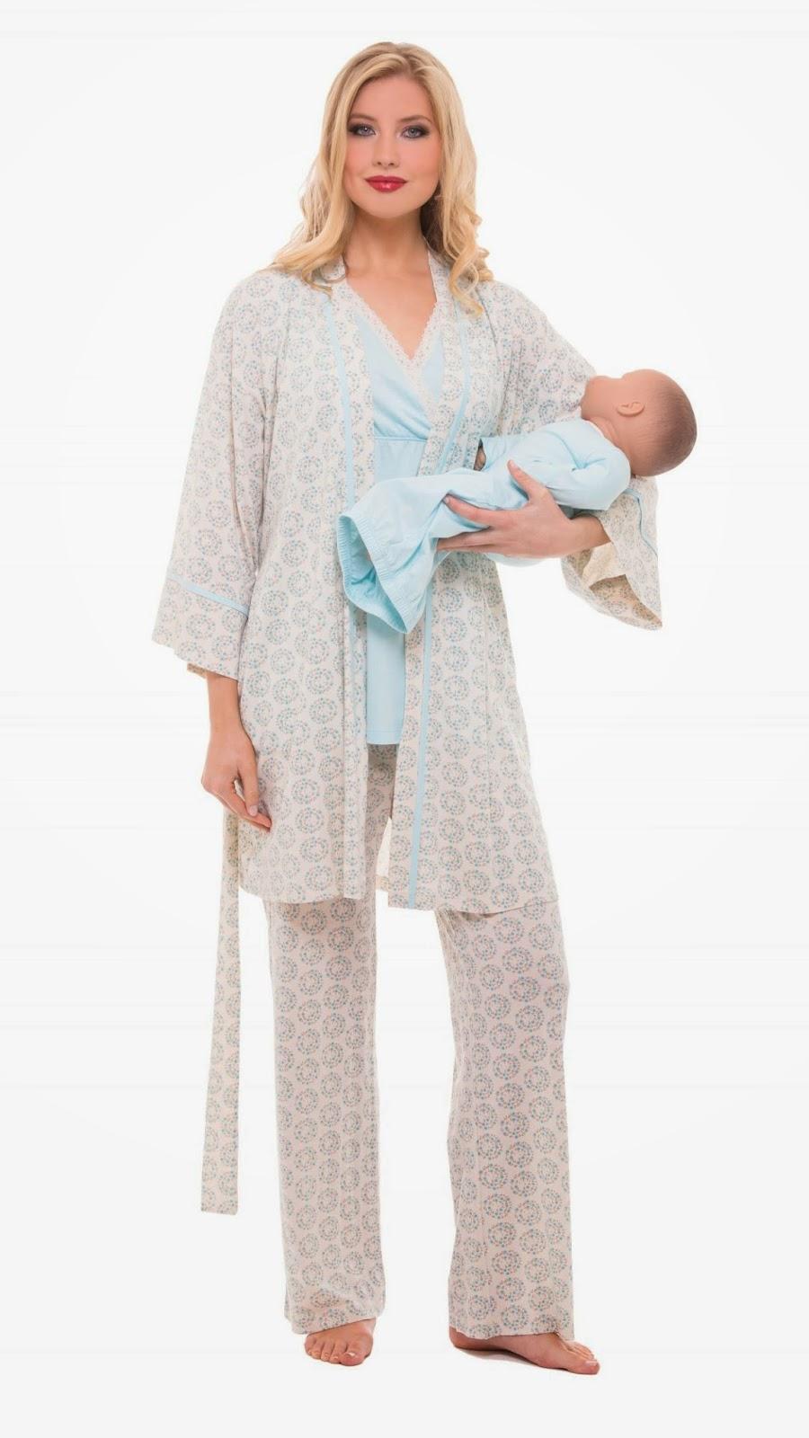 Mckinney Mommas Favorite Nursing Maternity Pajamas From