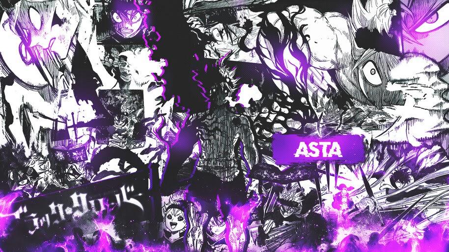 Asta Black Clover 4k Wallpaper 6 830