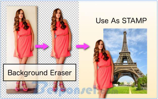 aplikasi edit foto android yang bisa ganti background