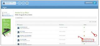 Aktifkan Akun Admin