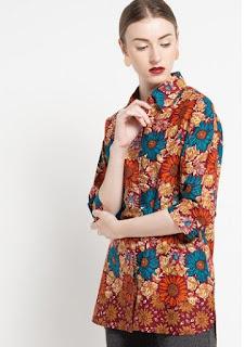 Gambar Model Baju Batik Atasan