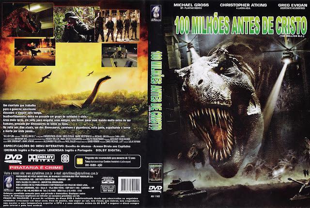 Capa DVD 100 MILHÕES ANTES DE CRISTO