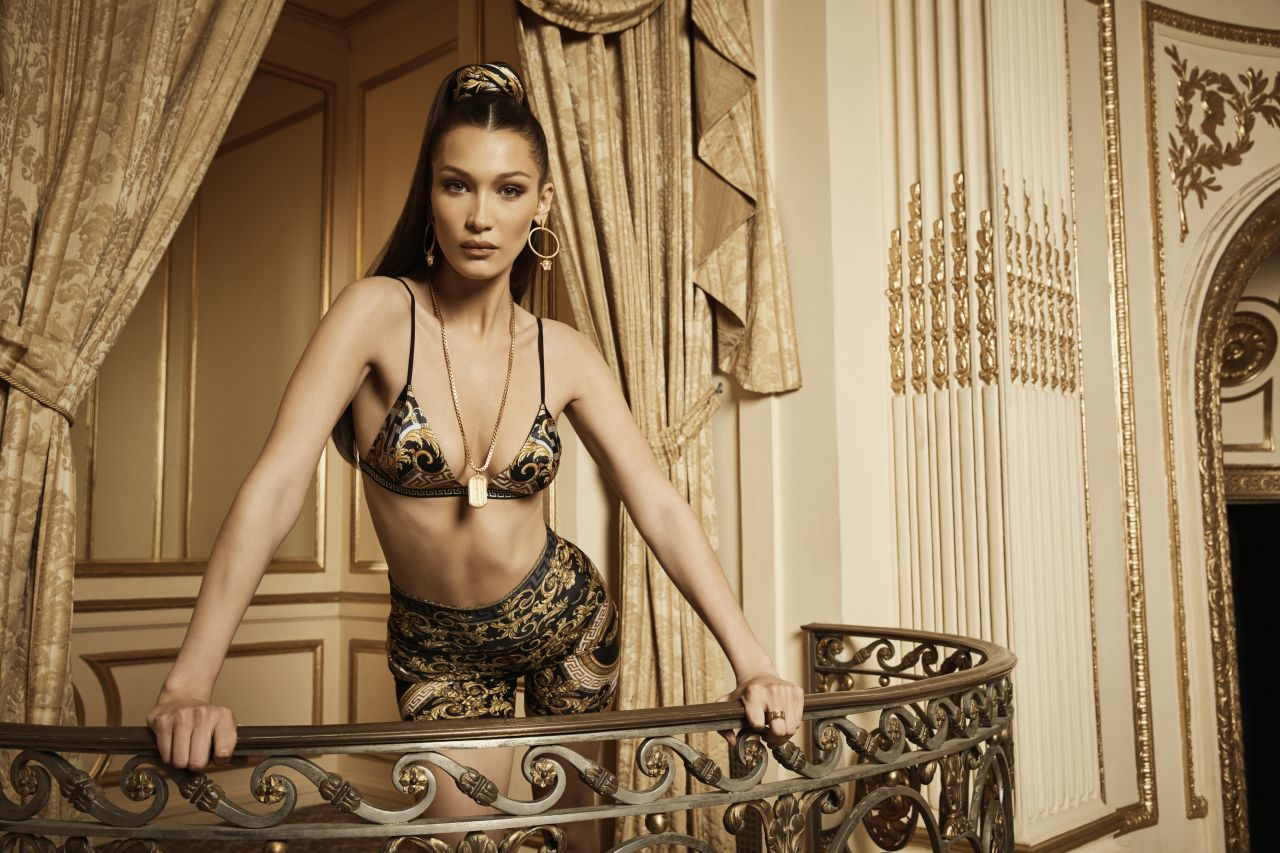 Bella Hadid – Photoshoot for Kith x Versace Campaign 2019