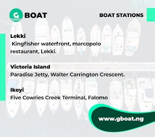 @GboatNg an alternate water taxi service for commuters in Lagos #Nigeria