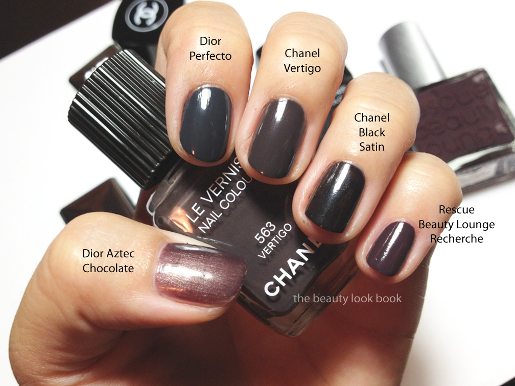 Chanel Vertigo 563 Le Vernis Fall 2012 The Beauty Look Book
