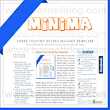 Three Columns Minima Template For Blogger