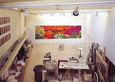 Workspaces Of The Greatest Artists Of The World (38 Pictures) - David Hockney, painter
