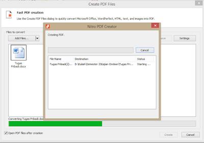 Proses convert file