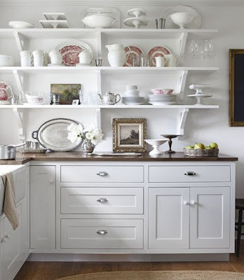 white-ironstone-displayed-kitchen-shelves