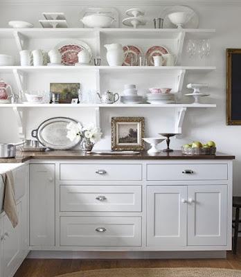 white-ironstone-displayed-kitchen-shelves
