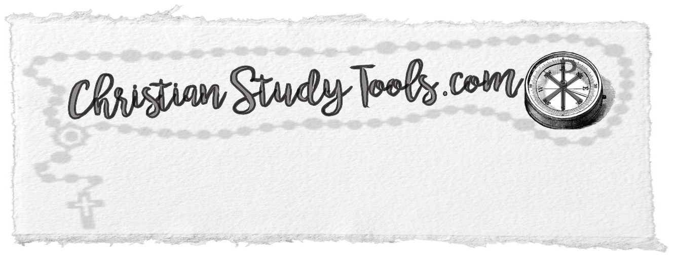 Christian Study Tools and Art
