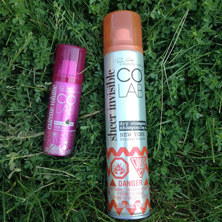 Colab Tokyo and New York Dry Shampoo ~ #Review #Giveaway