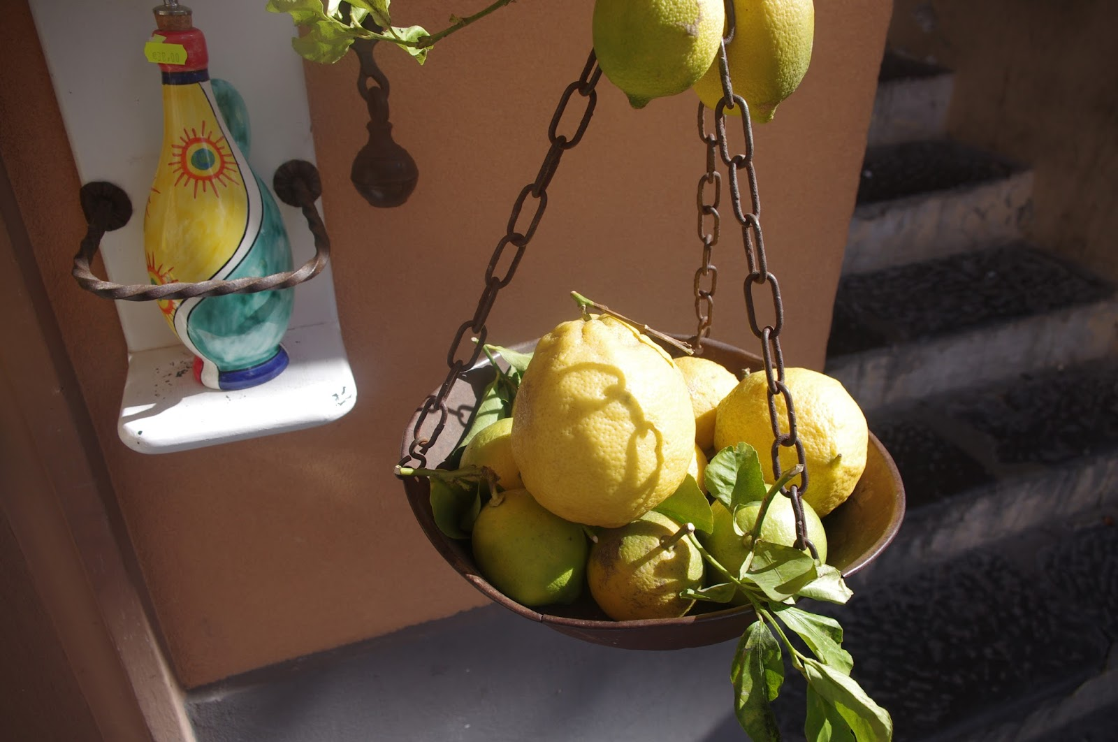 Lemons in Amalfi Italy