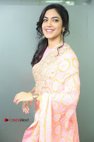 Actress Ritu Varma Pos in Beautiful Pink Anarkali Dress at at Keshava Movie Interview .COM 0063.JPG