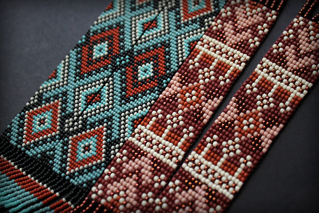 колье гердан из бисера купить интернет магазин россия этнические украшения в стиле бохо
