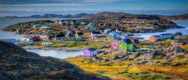 Greenland pulau terbesar di dunia 2.175.600 KM2