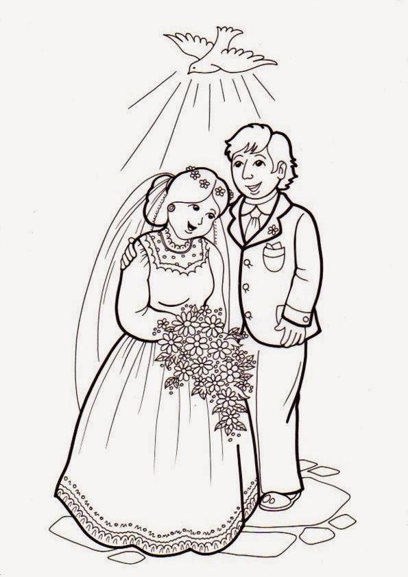 Matrimonio Catolico Para Dibujar : La catequesis el de sandra recursos