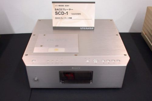 SONY first SACD Player SCD-1 (1999)