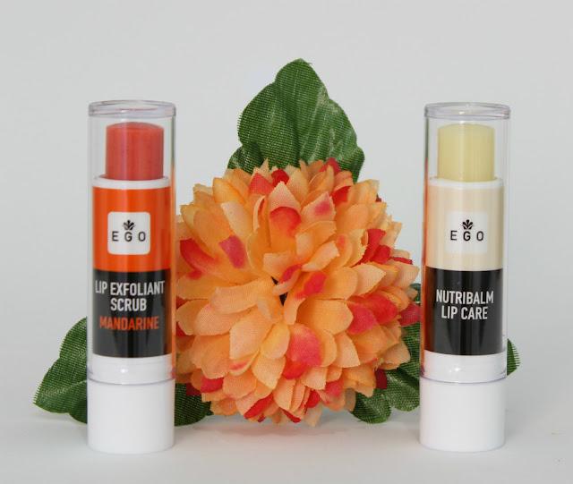 Confort Lips exfoliante y Nutribalm de Ego Professional