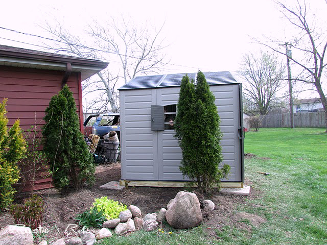 Turning an ordinary shed into a she shed