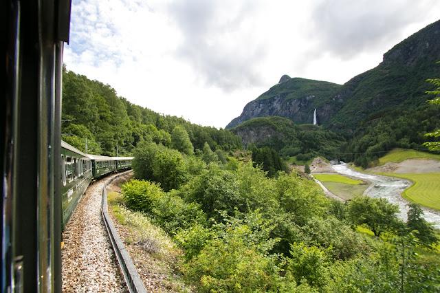 Treno panoramico Flamsbana