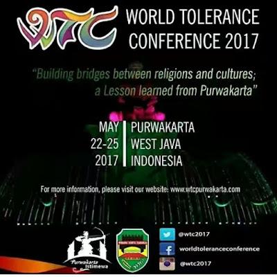 Ratusan Peserta Ikut World Tolerance Conference 2017 di Purwakarta