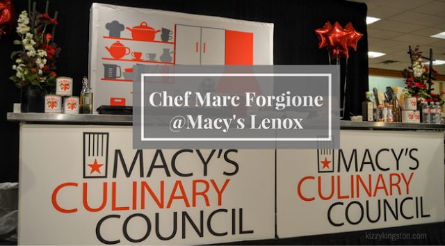 Macy's Culinary Council Event Lenox Square