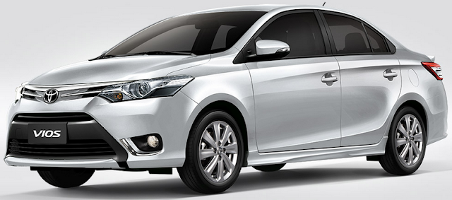Mobil Toyota Vios Tulungagung
