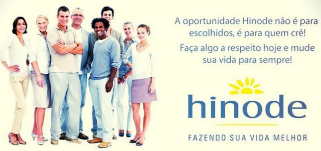 Novo Plano de Marketing Multinível Hinode 2016