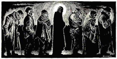 Αποτέλεσμα εικόνας για Ο Χριστός στο συσσίτιο