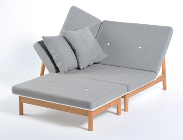 Moderne Chaiselongue Relaxmobel