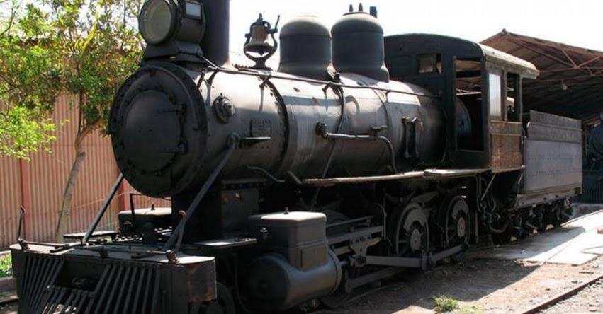 Declaran Patrimonio Cultural de la Nación a Locomotora a Vapor de Tacna (R. VM. Nº 118-2019-VMPCIC-MC) [FOTOS]