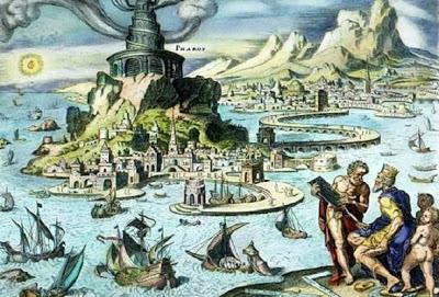 Seven-Wonders-of-the-Ancient-World-Lighthouse-of-Alexandria-عجائب-الدنيا-السبع-منارة-الإسكندرية
