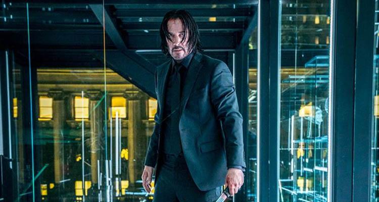 Keanu Reeves en John Wick 3 - Parabellum