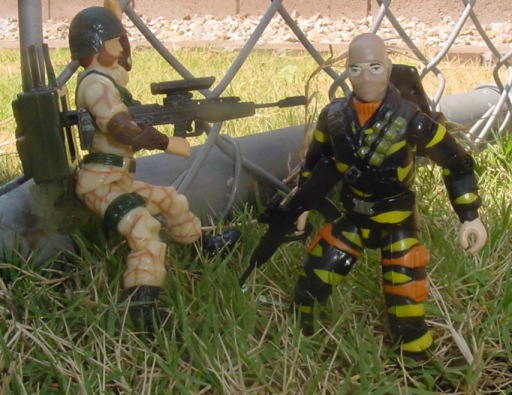 2003 Tiger Force Wreckage, TRU EXclusive, 1990 Ambush