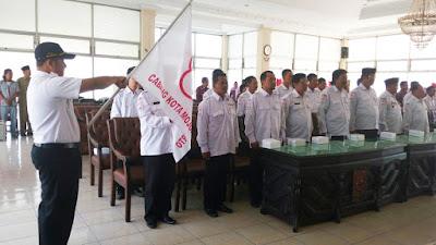 Lantik Relawan PMI, Walikota Minta Jaga Netralitas