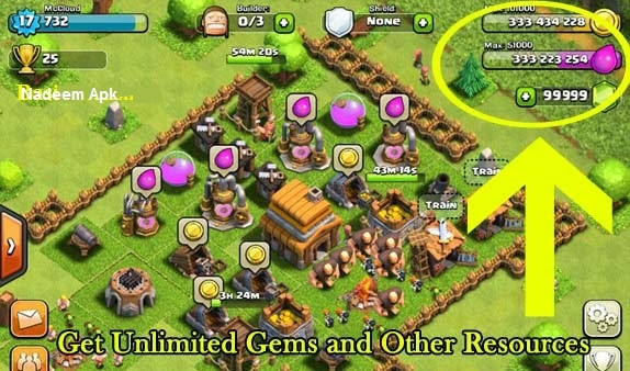 Clash OF Clans APK Cheats Code Free Download