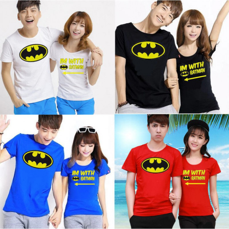 Jual Online With Batman Jakarta Bahan Combed Terbaru