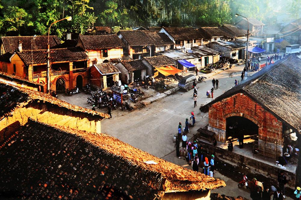 Le vieux quartier de Dong Van