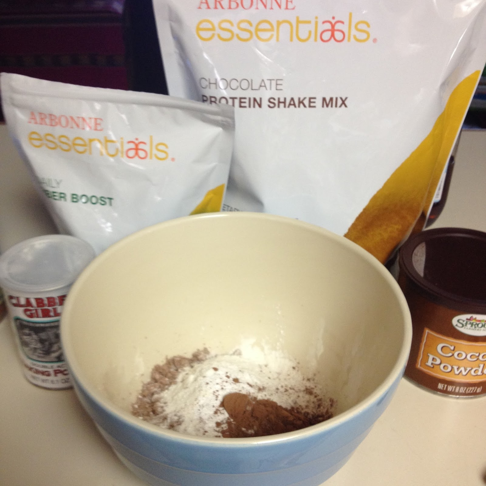 protein powder brownies