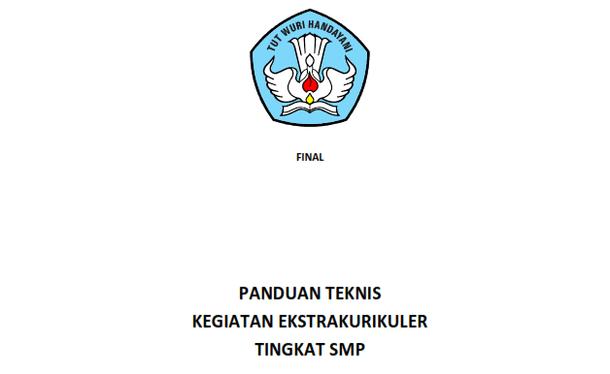 Panduan Teknis Kegiatan Ekstrakurikuler Tingkat SMP MTs