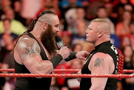 Braun Strowman vs Brock lesner