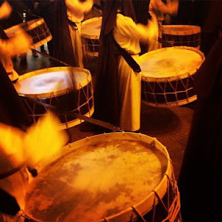 Semana Santa, saetas, tambores, Marian Ruiz
