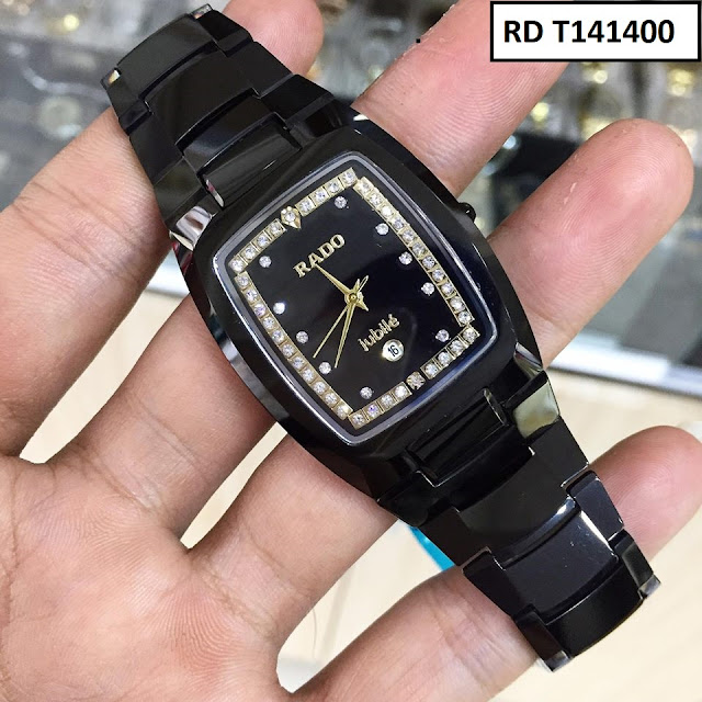 Đồng hồ nam mặt chữ nhật Rado RD T141400
