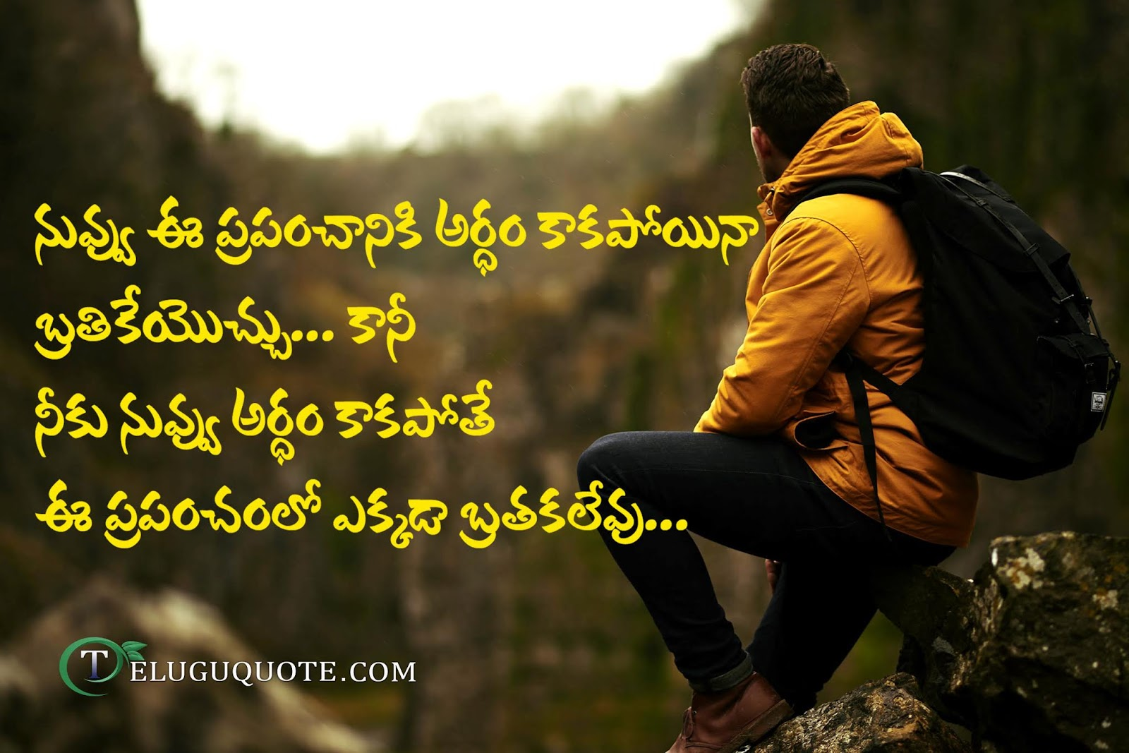 Lonely Quotes Telugu Quotes